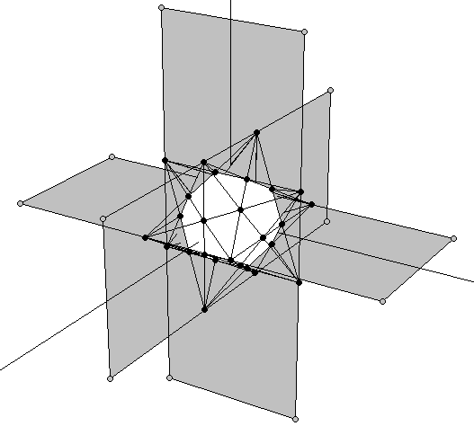 Construction process of the Double Pentadodecahedron