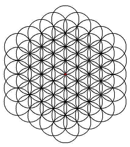 (a) Final completion of the Flower of Life ...
