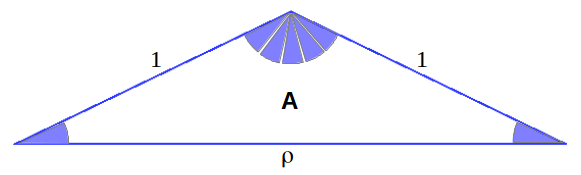 Heptagon triangle A