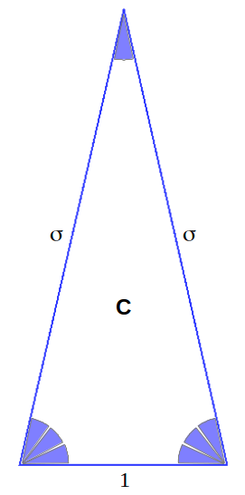 Heptagon triangle C
