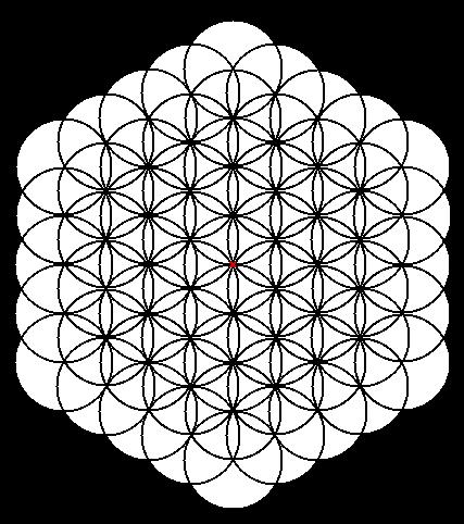 La Flor De La Vida Geometría Sagrada